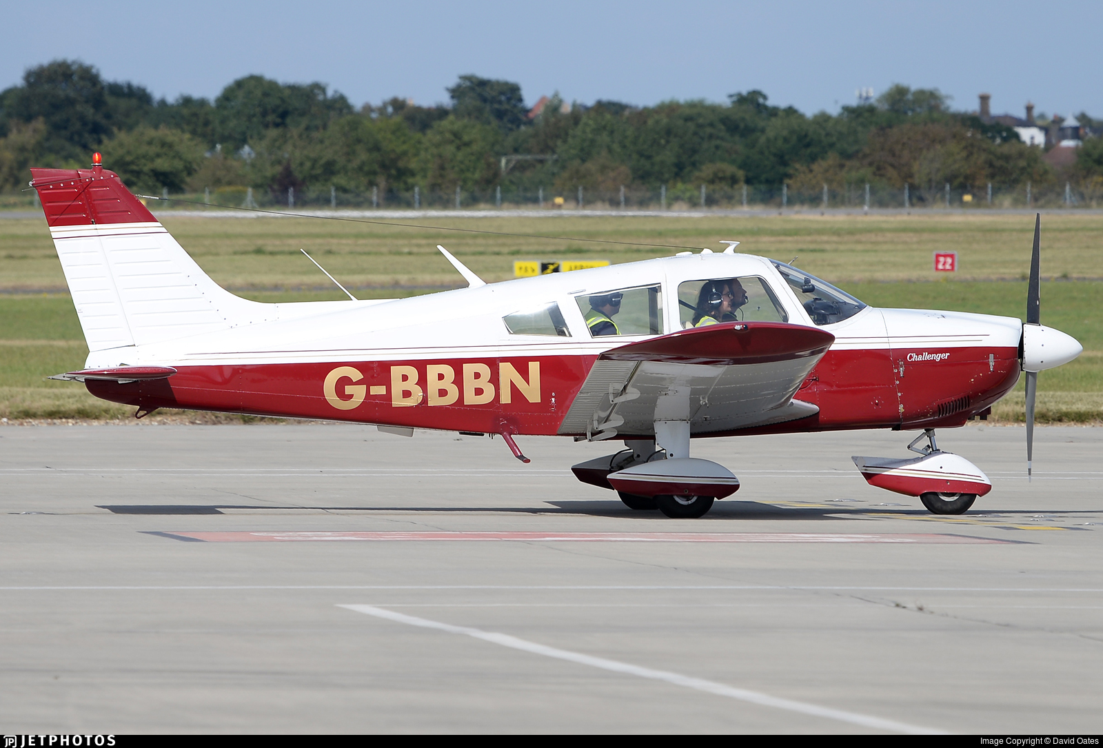 G-BBBN - Piper PA-28-180 Cherokee Challenger - Private