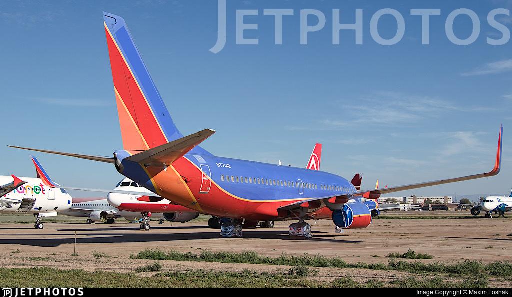 N7714B - Boeing 737-76N - Untitled