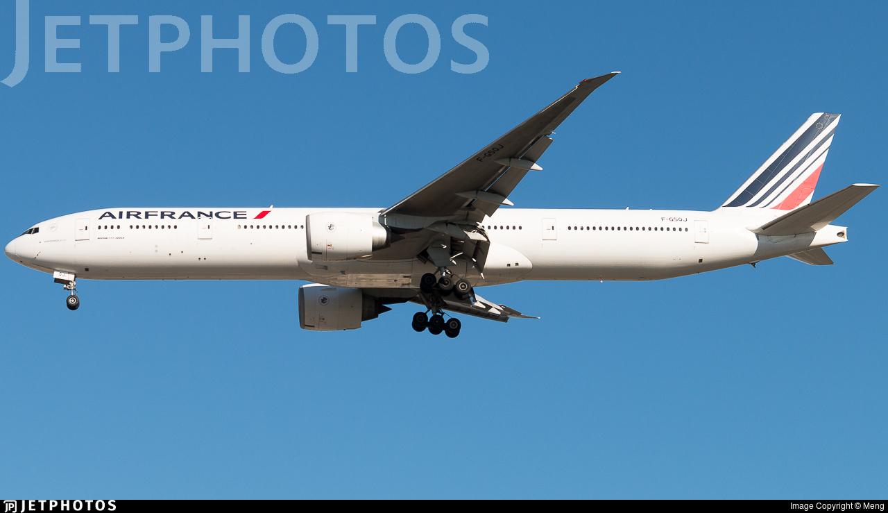 F-GSQJ - Boeing 777-328ER - Air France