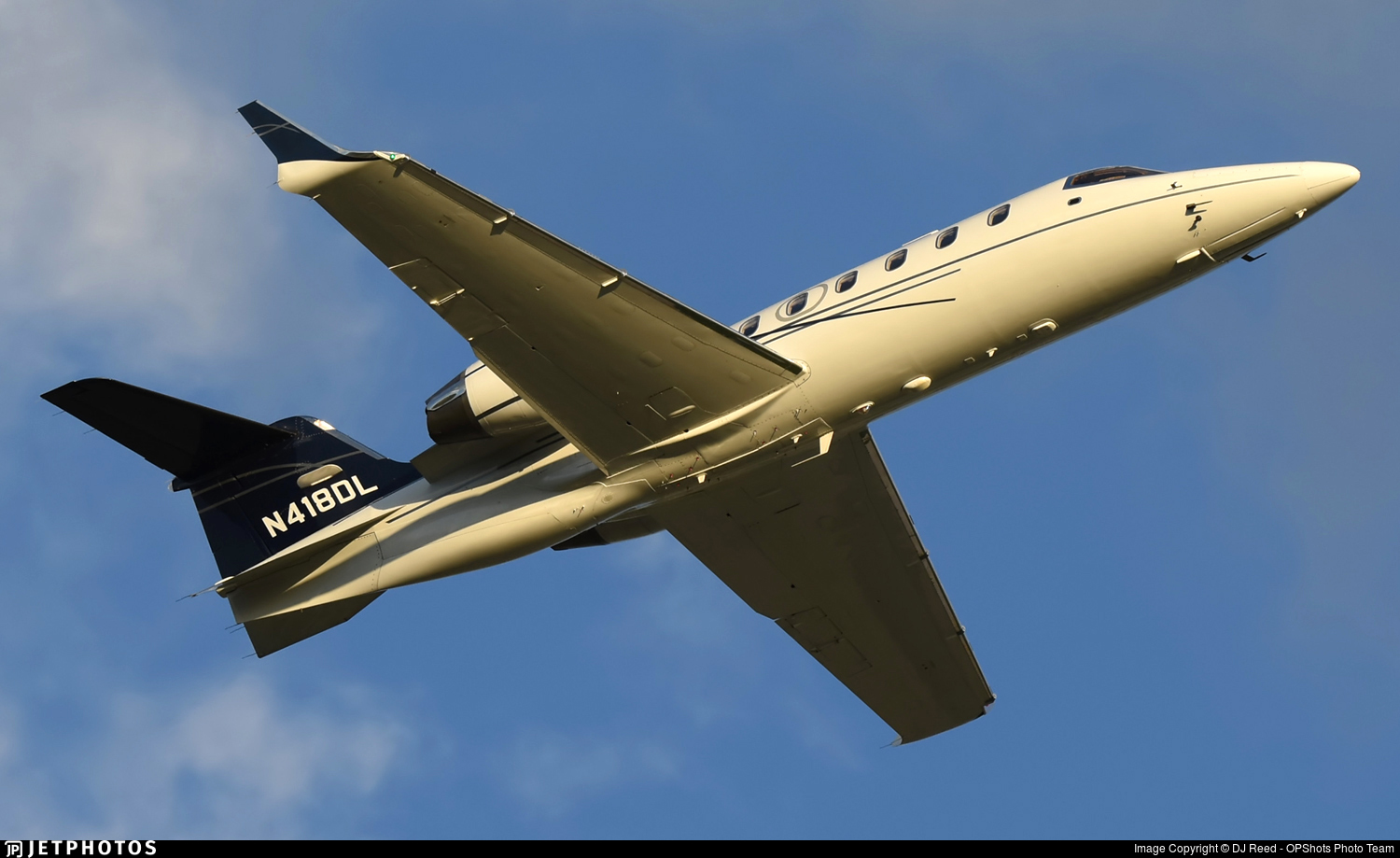 N418DL - Bombardier Learjet 31A - Private