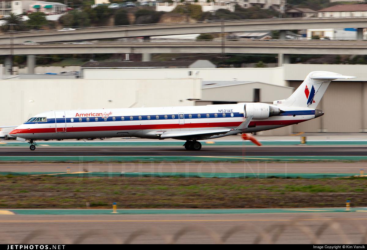 N521AE - Bombardier CRJ-701ER - American Eagle