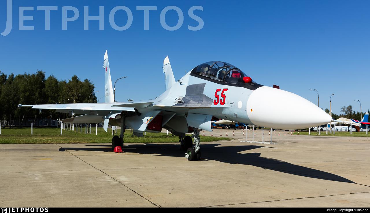 55 sukhoi su 30sm russia air force kislond jetphotos