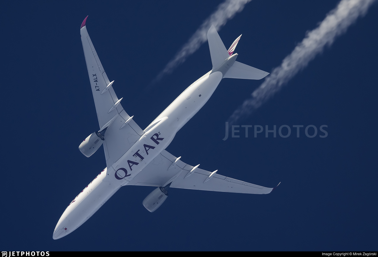 A7-ALX - Airbus A350-941 - Qatar Airways