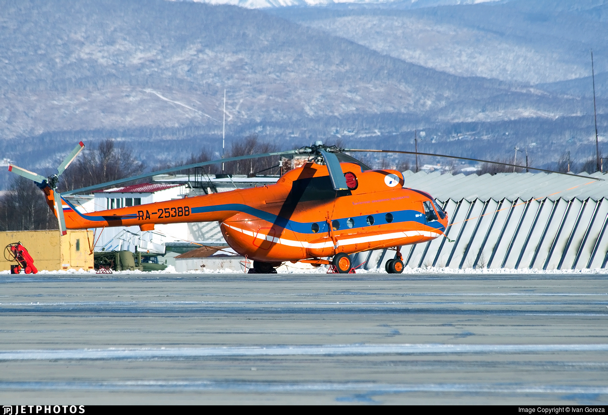RA-25388 - Mil Mi-8T Hip - Petropavlovsk-Kamchatskoe Aviation Enterprise