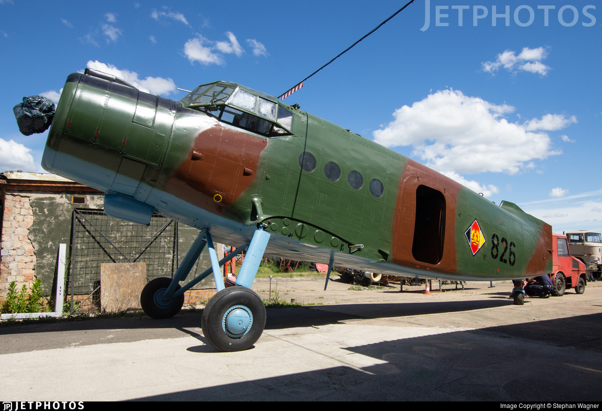 826 - Antonov An-2 - German Democratic Republic - Air Force