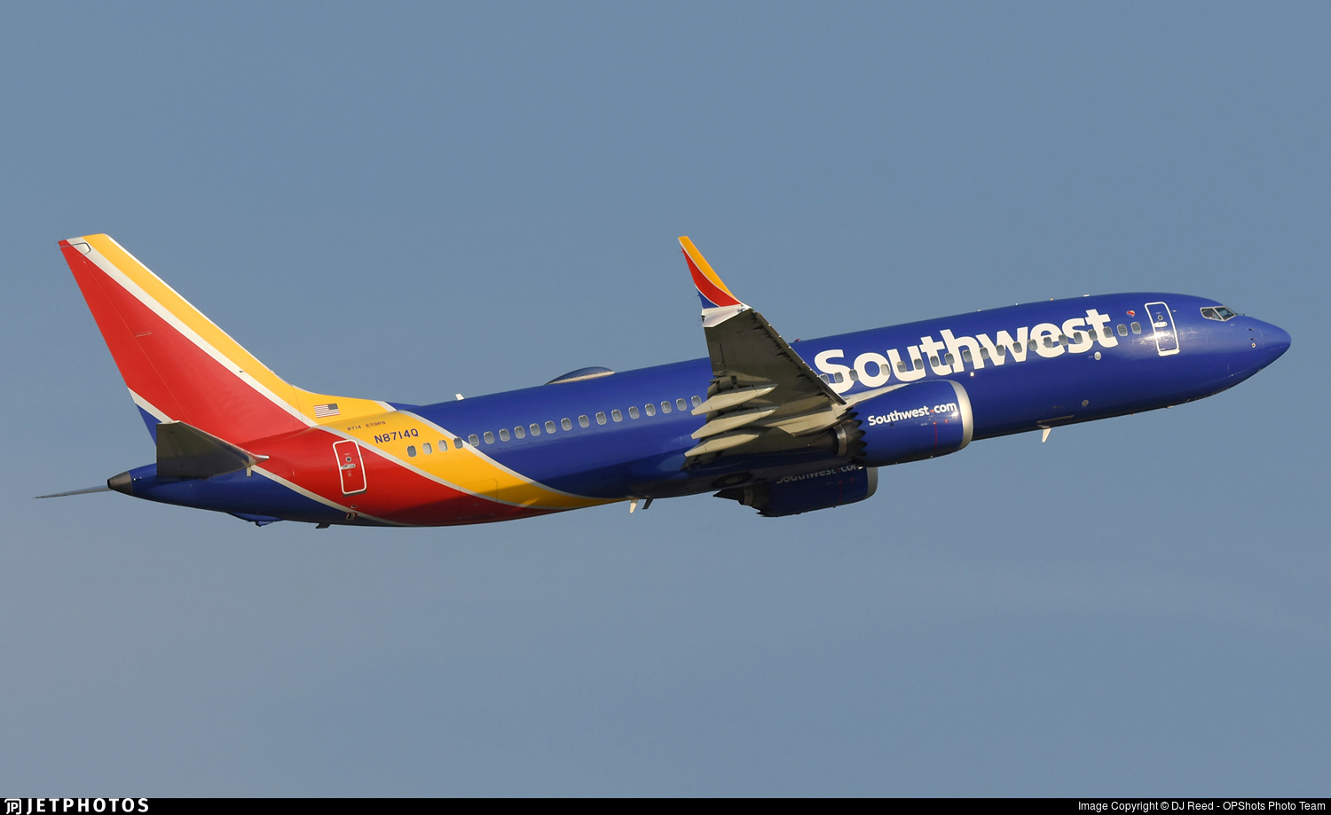 N8714Q - Boeing 737-8 MAX - Southwest Airlines