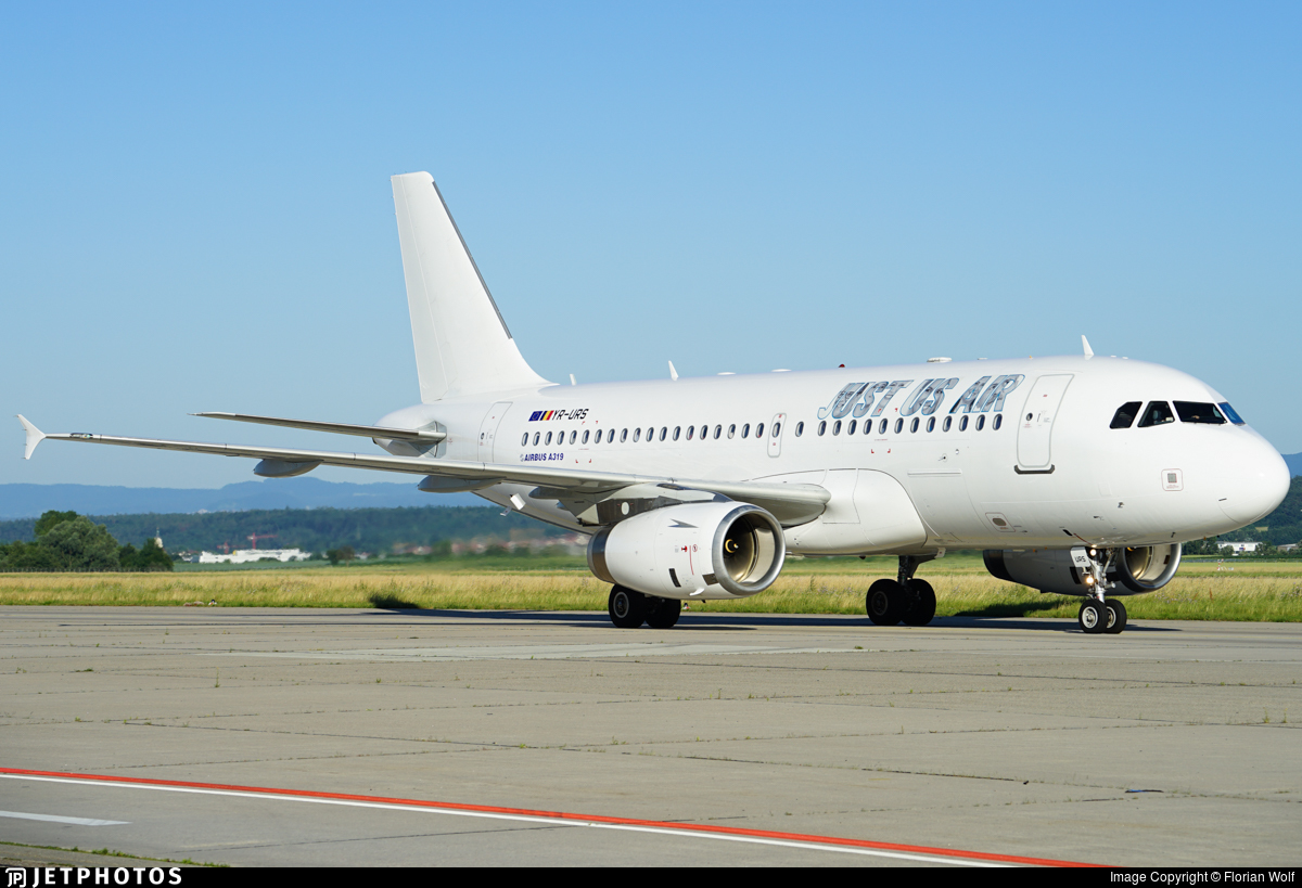 YR-URS | Airbus A319-132 | Just Us Air | Florian Wolf