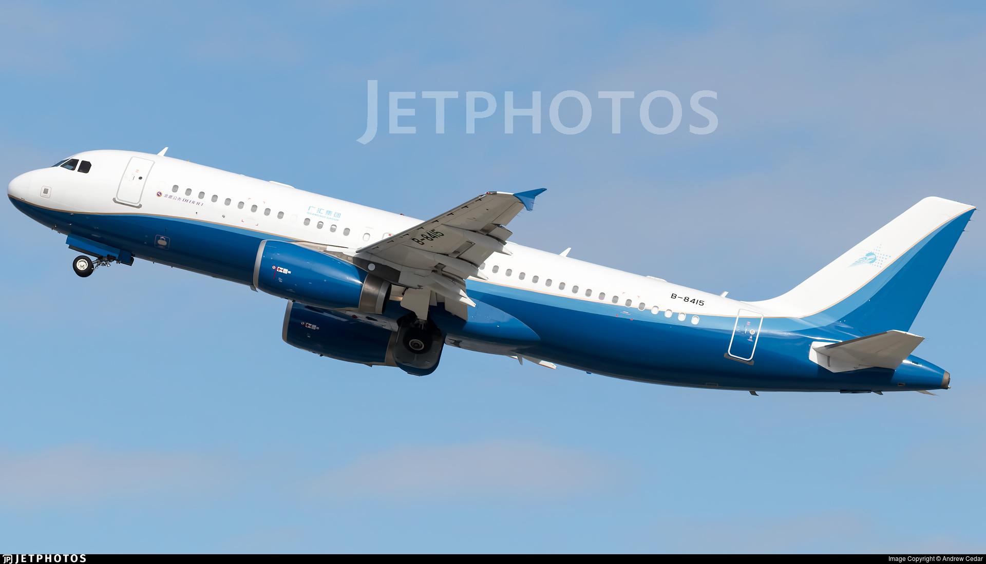 B-8415 | Airbus A320-232(CJ) Prestige | Deer Jet | Andrew