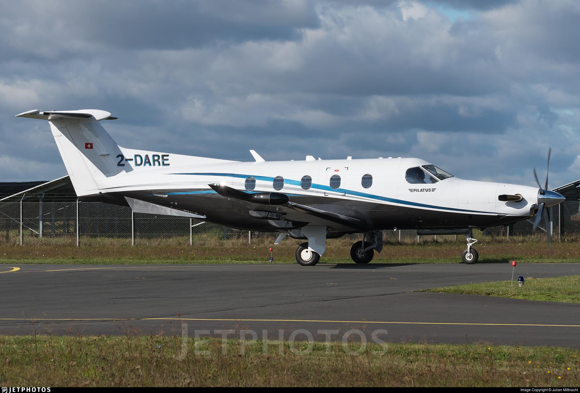 2-DARE - Pilatus PC-12/47E - Private