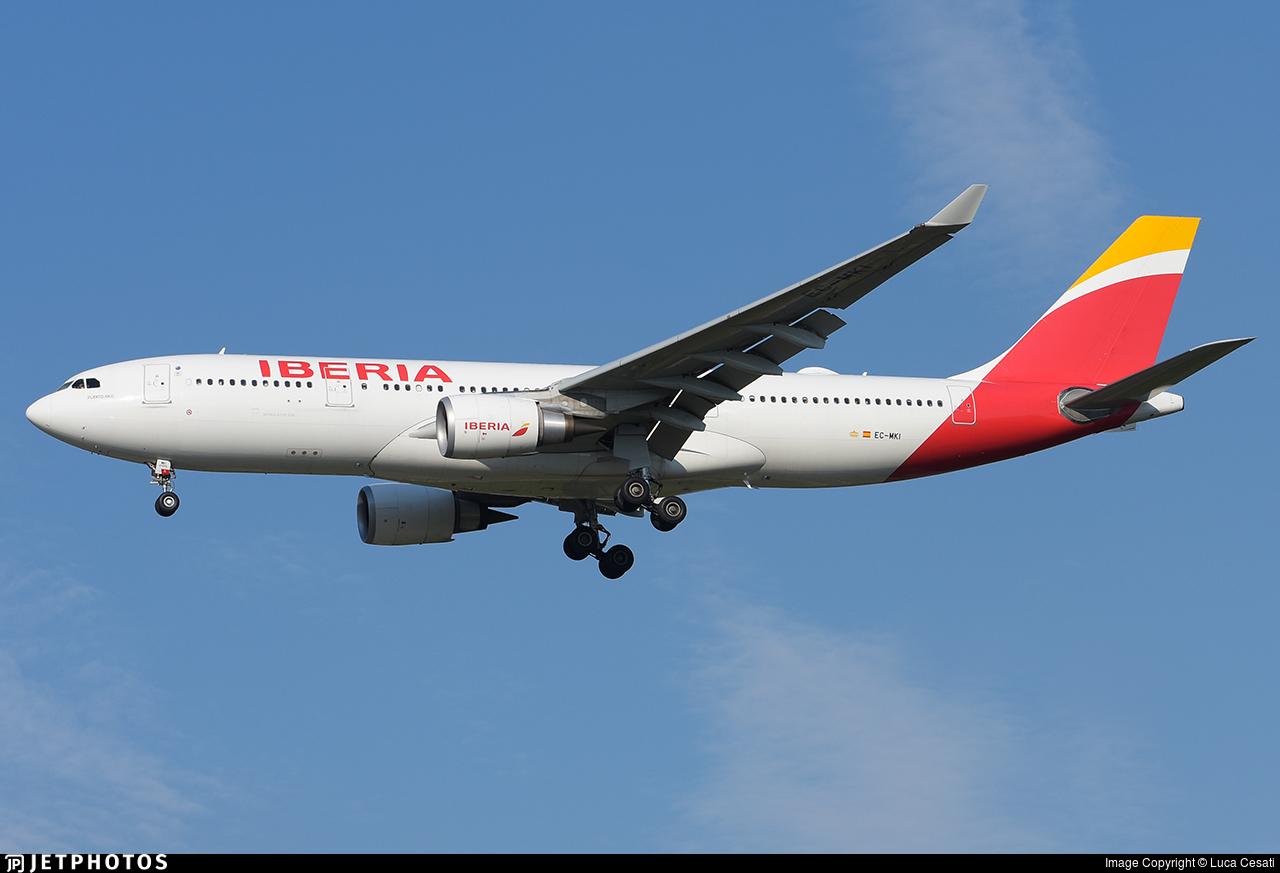 EC-MKI - Airbus A330-202 - Iberia