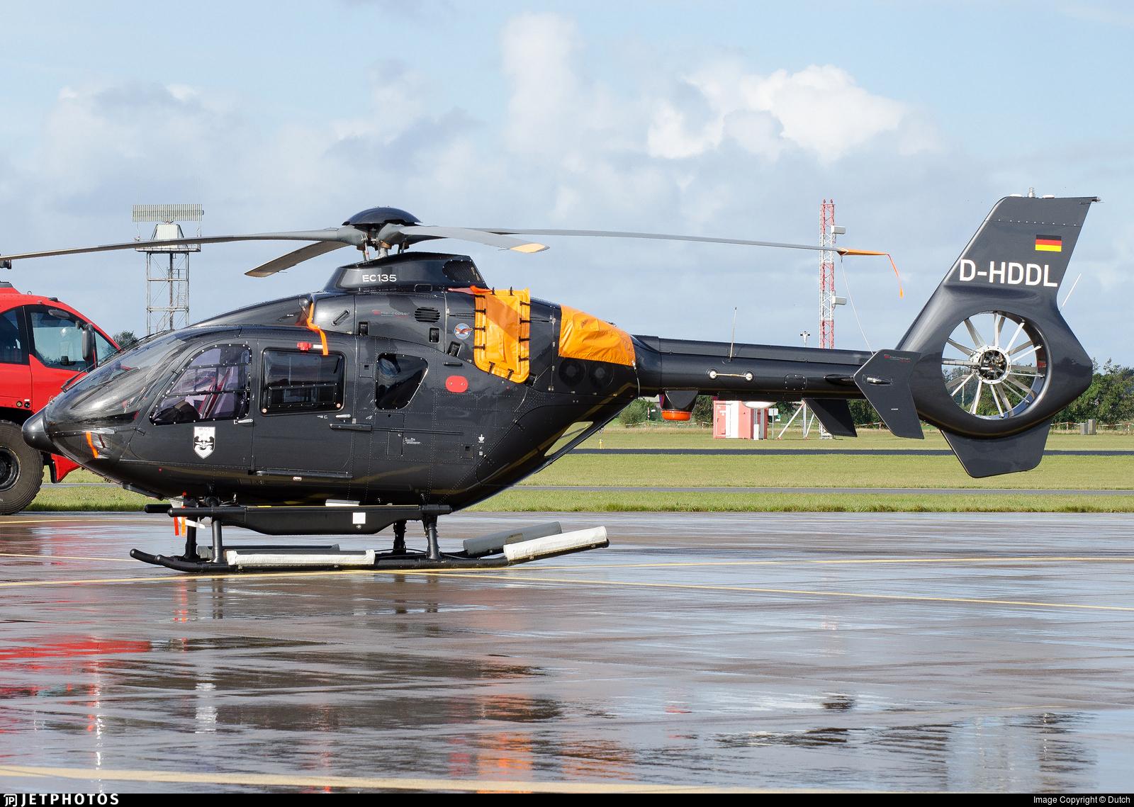 D-HDDL - Eurocopter EC 135P2+ - DL Helicopter