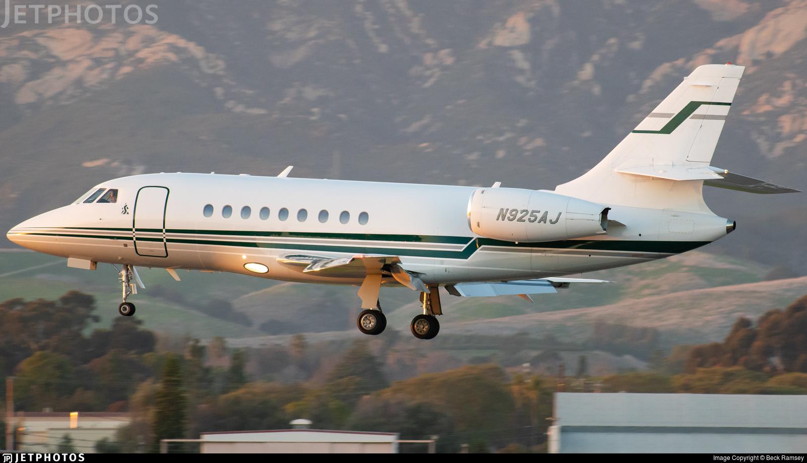 N925AJ - Dassault Falcon 2000 - Private