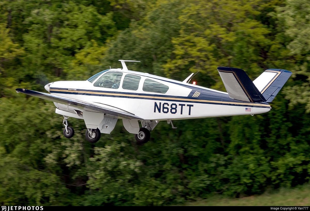 N68TT - Beechcraft 35 Bonanza - Private