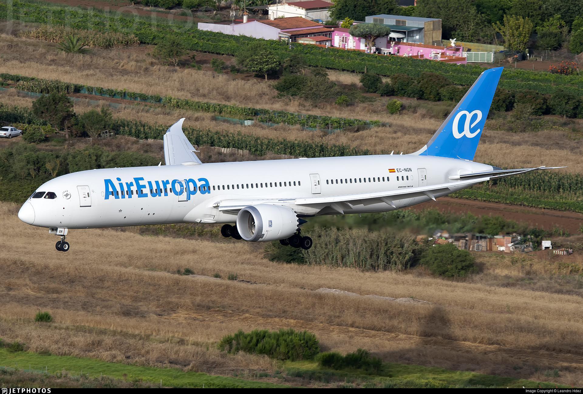 EC-NGN - Boeing 787-9 Dreamliner - Air Europa