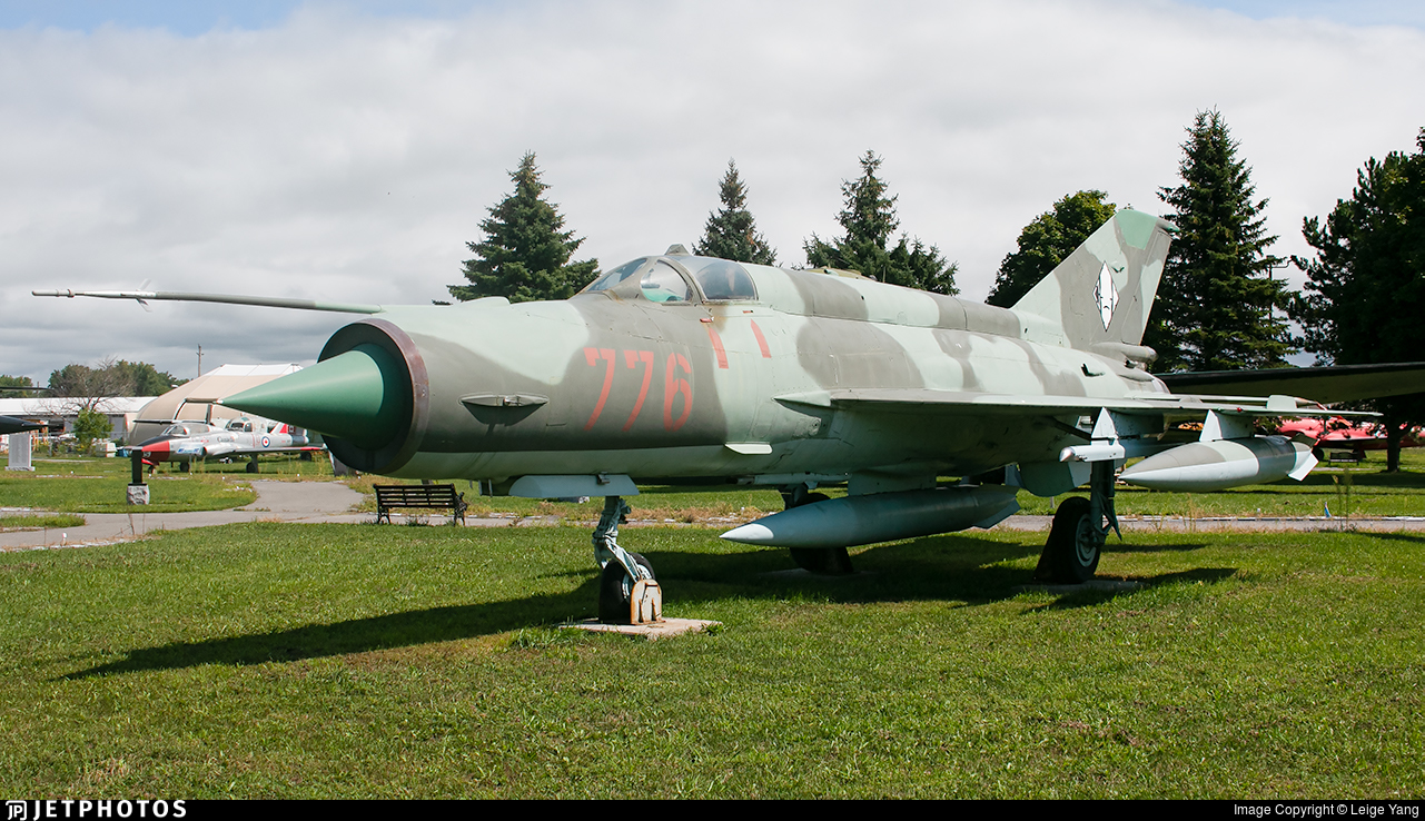 776 - Mikoyan-Gurevich MiG-21MF Fishbed J - German Democratic Republic - Air Force