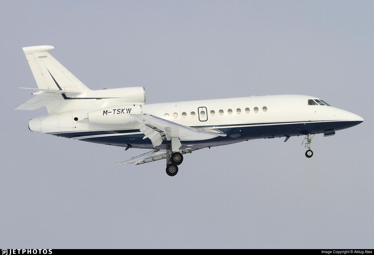 M-TSKW - Dassault Falcon 900C - Airfix Aviation