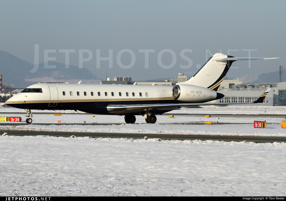 VP-BEB - Bombardier BD-700-1A10 Global Express XRS - RusJet