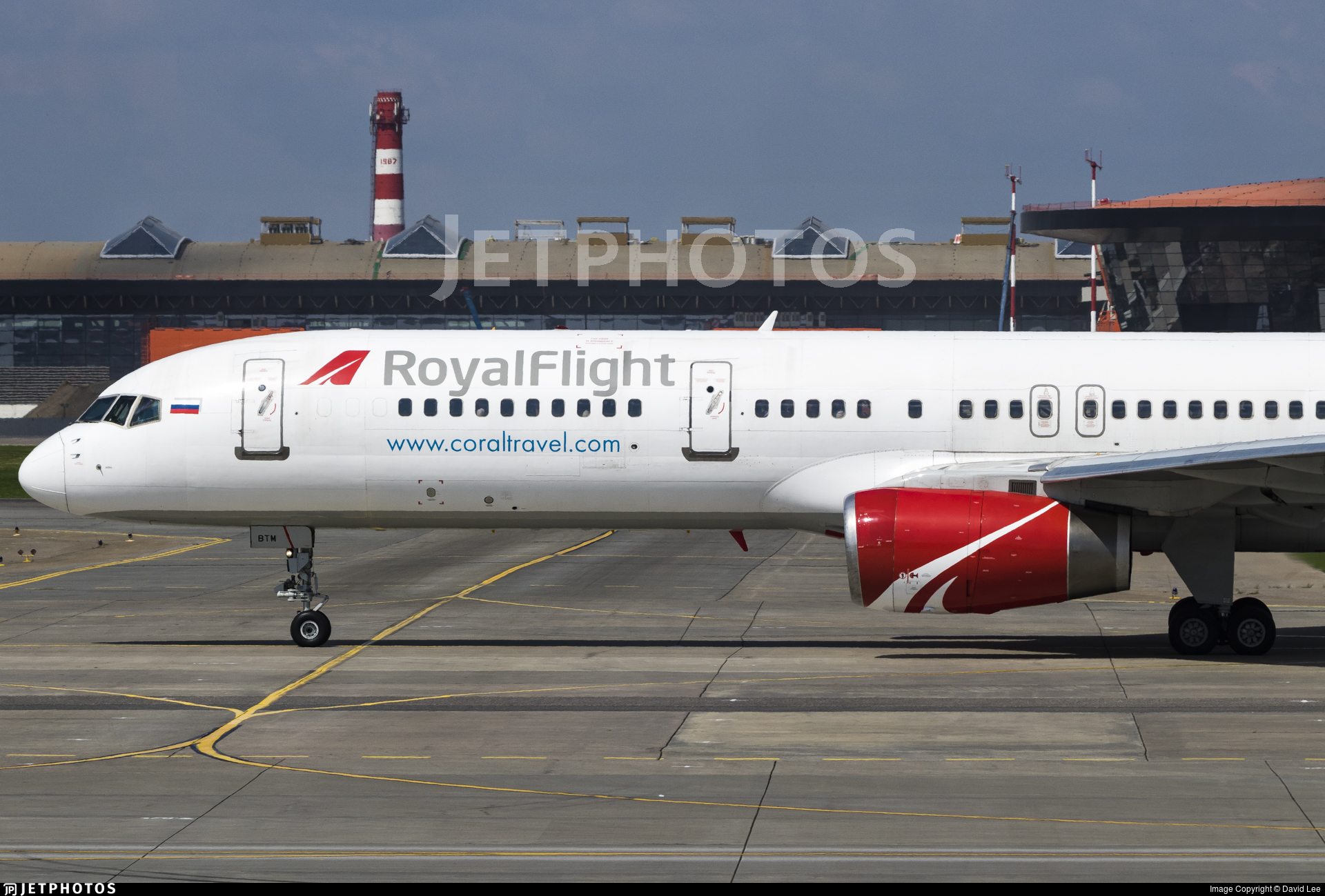 VQ-BTM - Boeing 757-256 - Royal Flight
