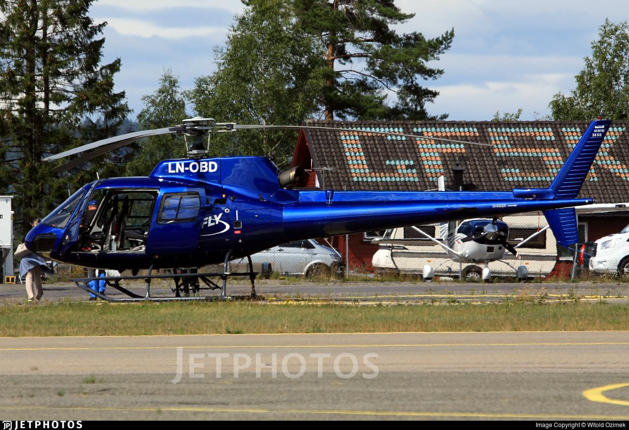 LN-OBD - Eurocopter AS 350BA Ecureuil - HeliFly