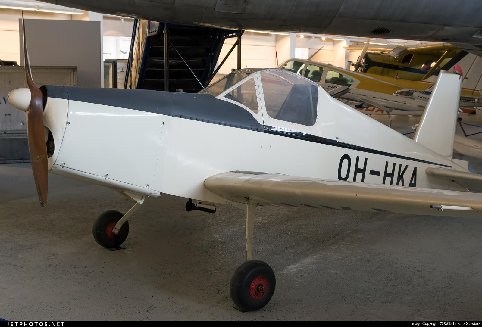 OH-HKA - Heinonen HK-1 Keltiainen - Private