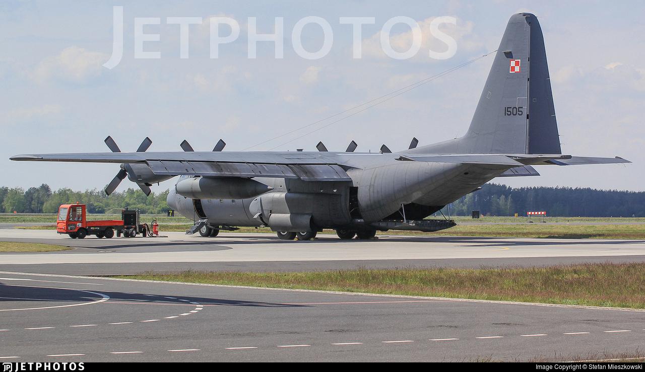 1505 - Lockheed C-130E Hercules - Poland - Air Force