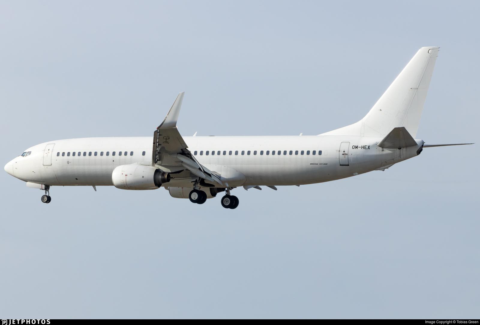 OM-HEX - Boeing 737-81Q - Air Explore