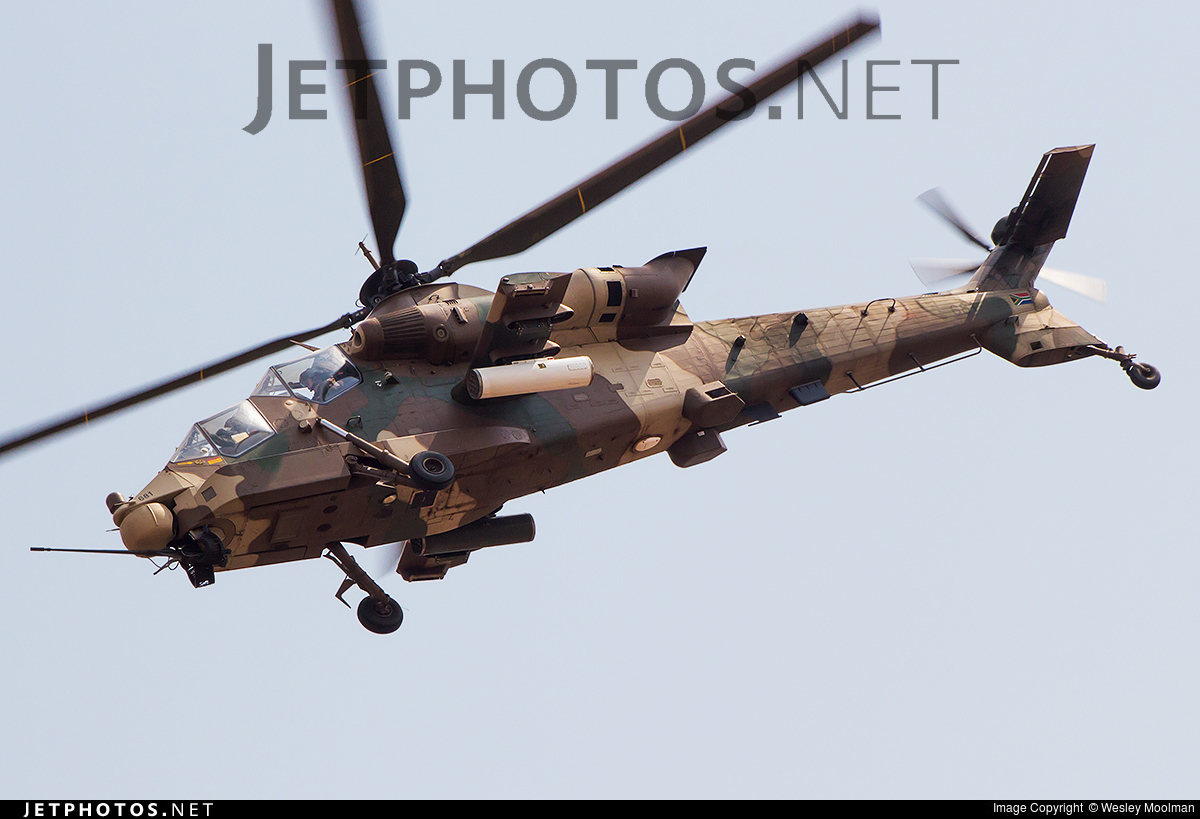 681 - Denel CSH-2 Rooivalk - South Africa - Air Force