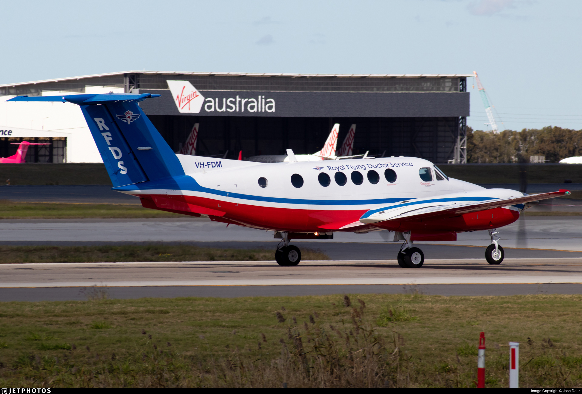 VH-FDM - Beechcraft 200C Super King Air - Royal Flying Doctor Service of Australia (Queensland Section)