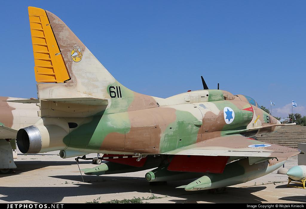 611 - McDonnell Douglas A-4F Skyhawk - Israel - Air Force