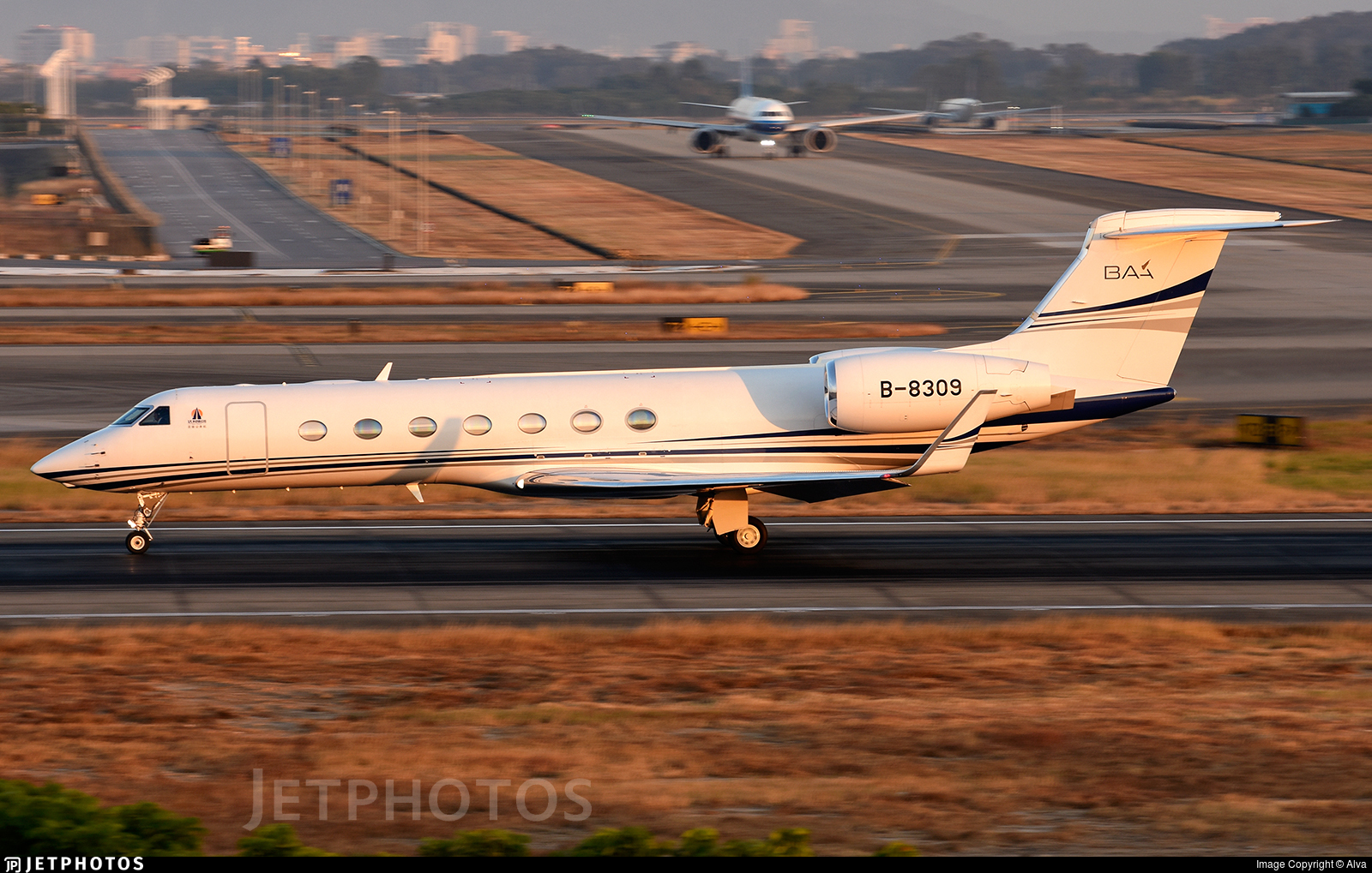 B-8309 - Gulfstream G550 - Business Aviation Asia