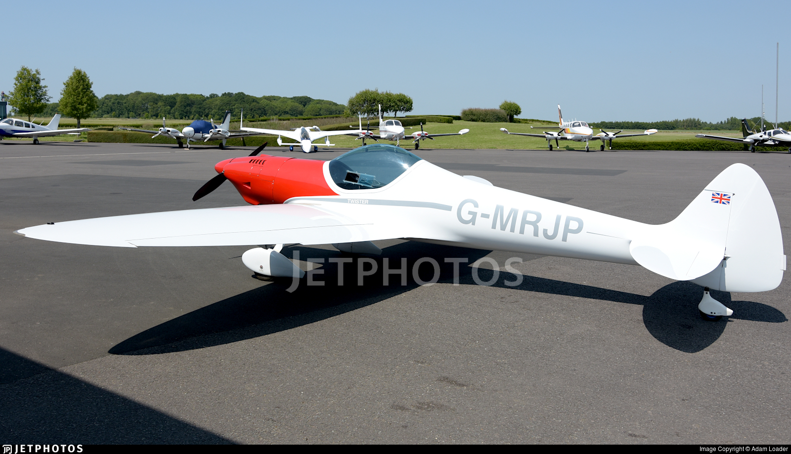 G-MRJP - Silence SA1100 Twister - Private