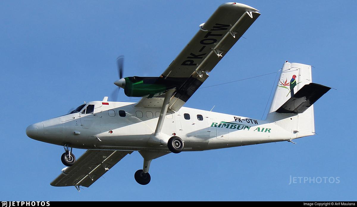 PK-OTW - Viking DHC-6-400 Twin Otter - Rimbun Air