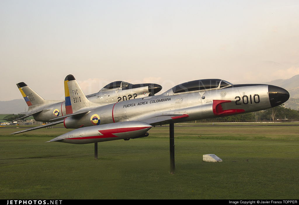 FAC2010 - Lockheed T-33 Shooting Star - Colombia - Air Force