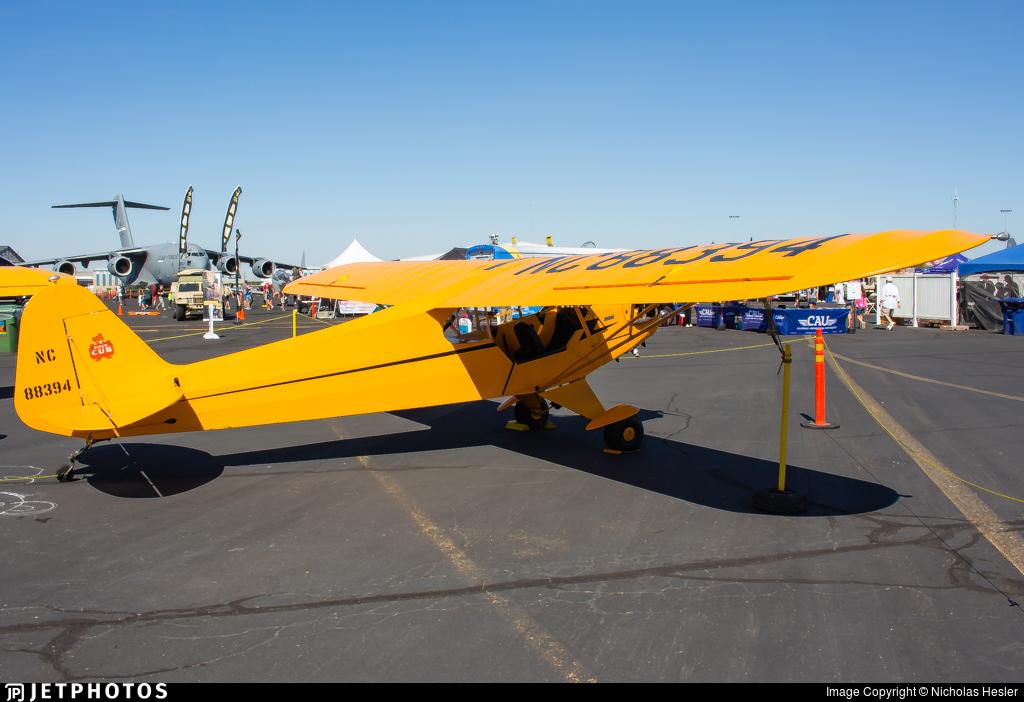 NC88394 - Piper J-3C-65 Cub - Private