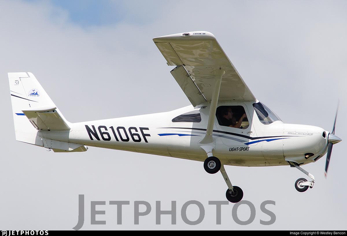 N6106F | Cessna 162 SkyCatcher | Private | Westley Bencon