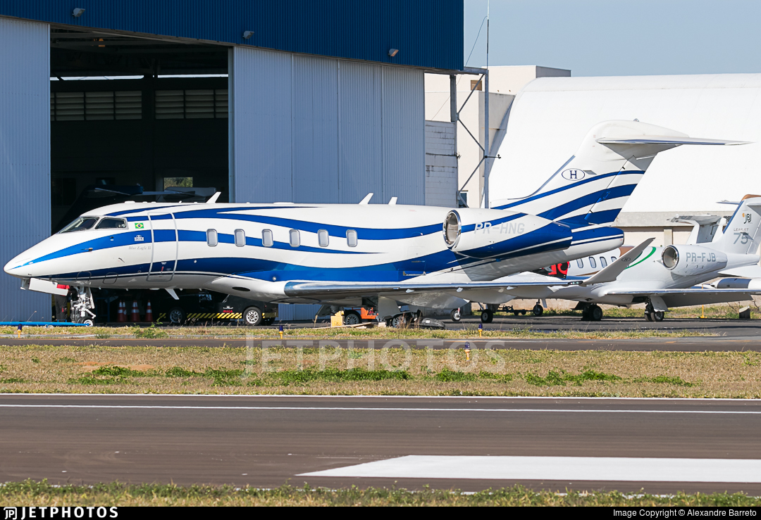 PR-HNG - Bombardier BD-100-1A10 Challenger 350 - Private