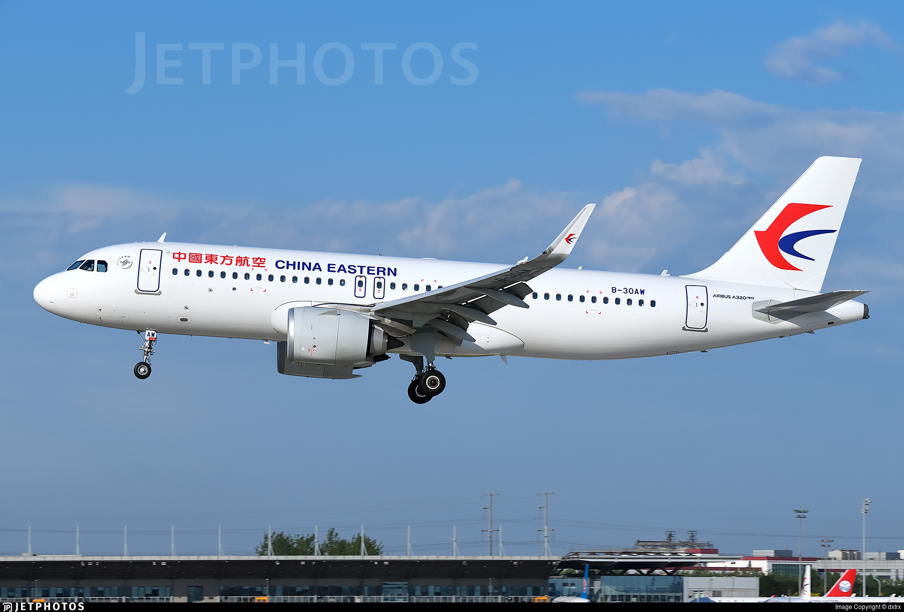 B-30AW - Airbus A320-251N - China Eastern Airlines