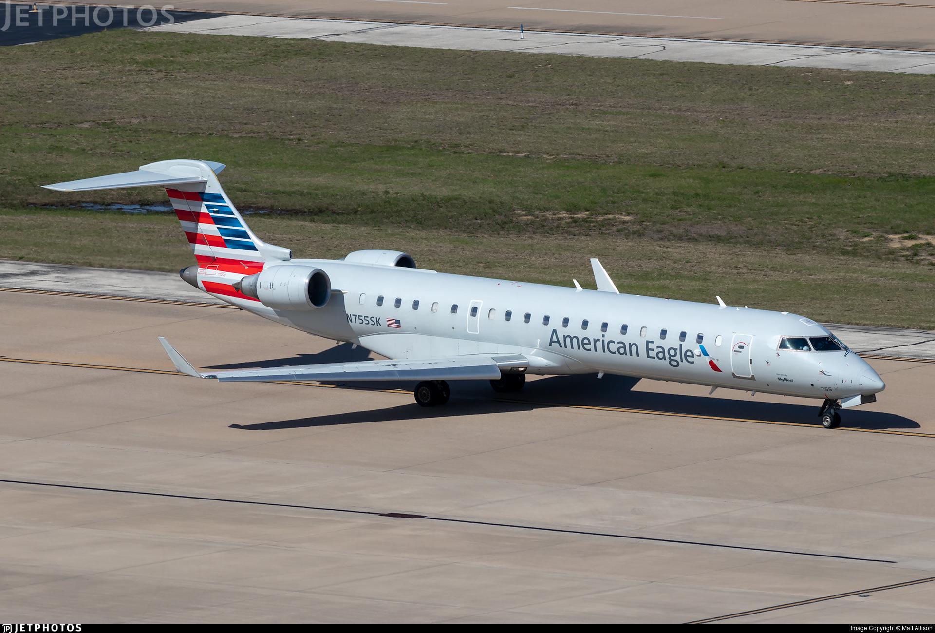 N755SK - Bombardier CRJ-701ER - American Eagle (SkyWest Airlines)