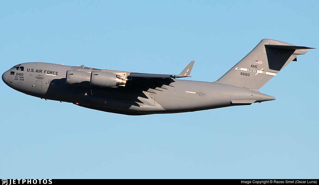 06-6160 - Boeing C-17A Globemaster III - United States - US Air Force (USAF)