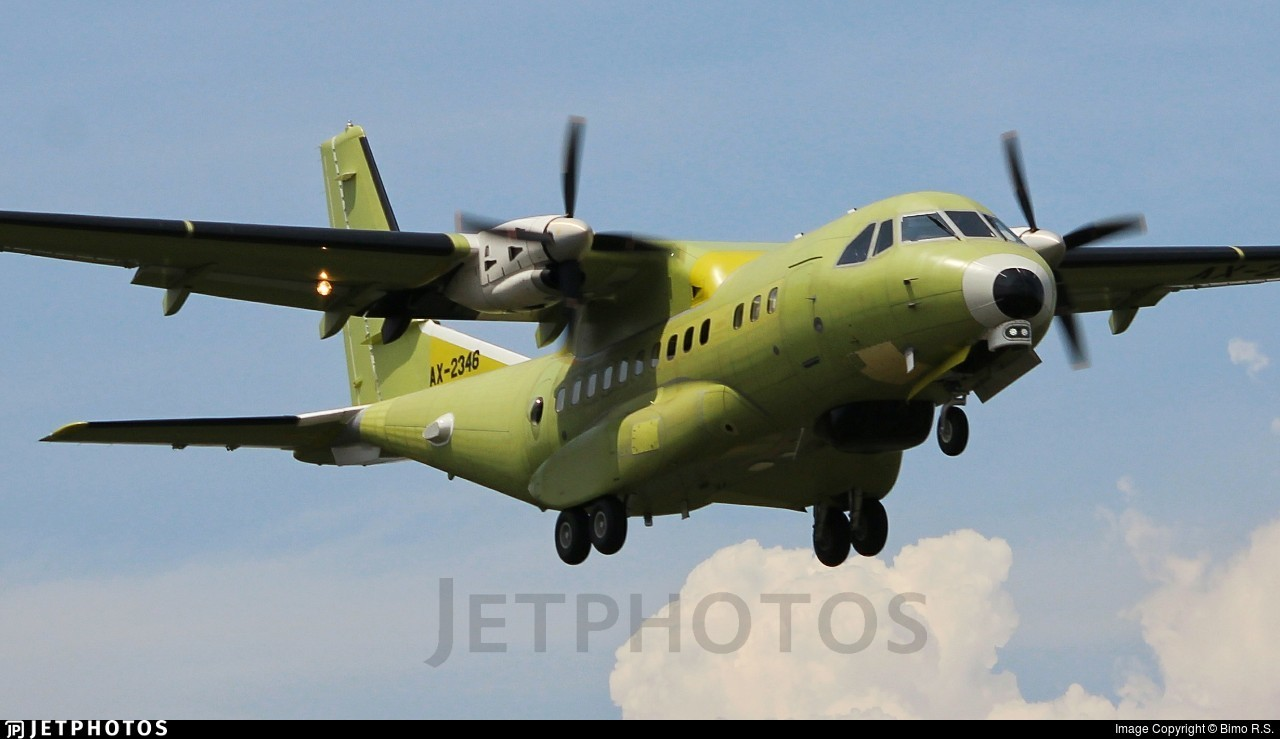 AX-2346 - CASA CN-235MPA - Indonesia - Naval Air Arm