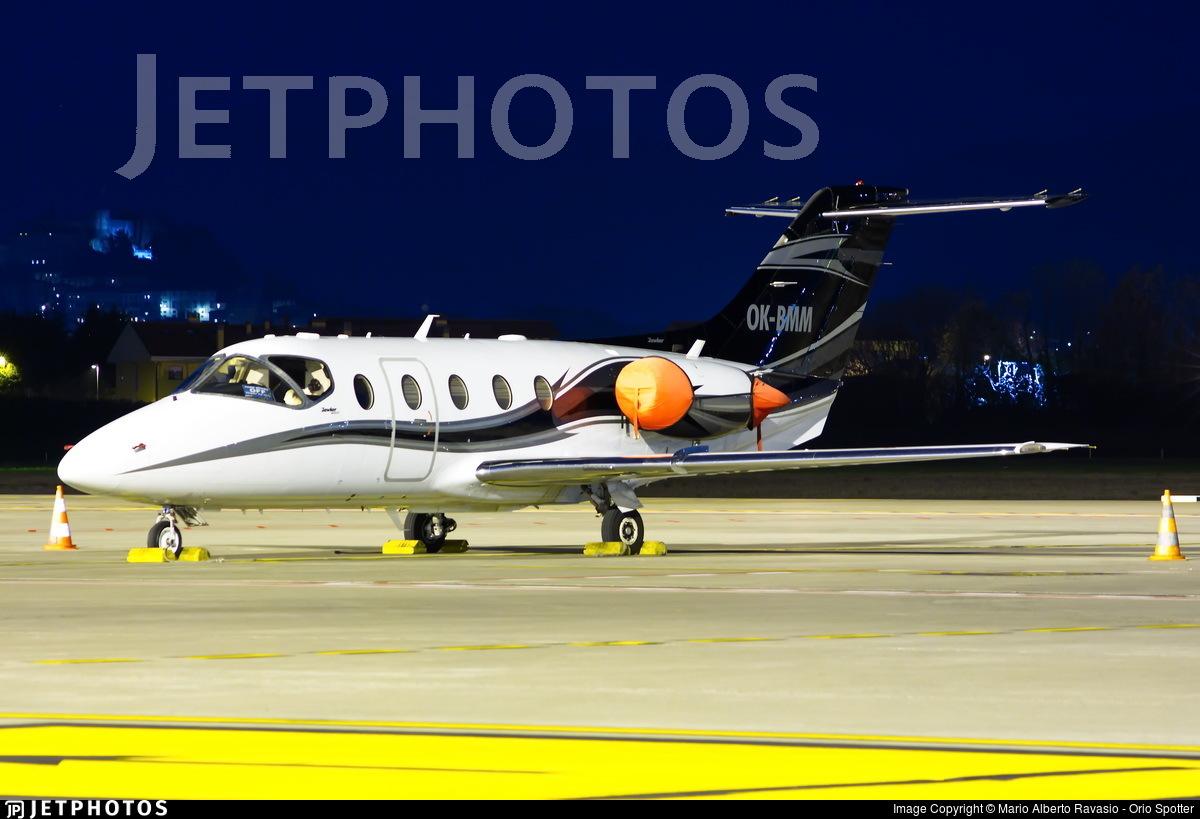 OK-BMM - Beechcraft 400A Beechjet - Private