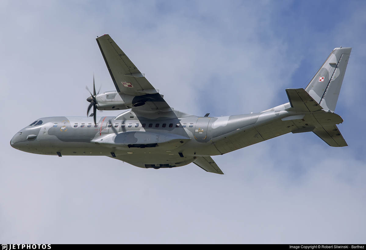 013 - CASA C-295M - Poland - Air Force