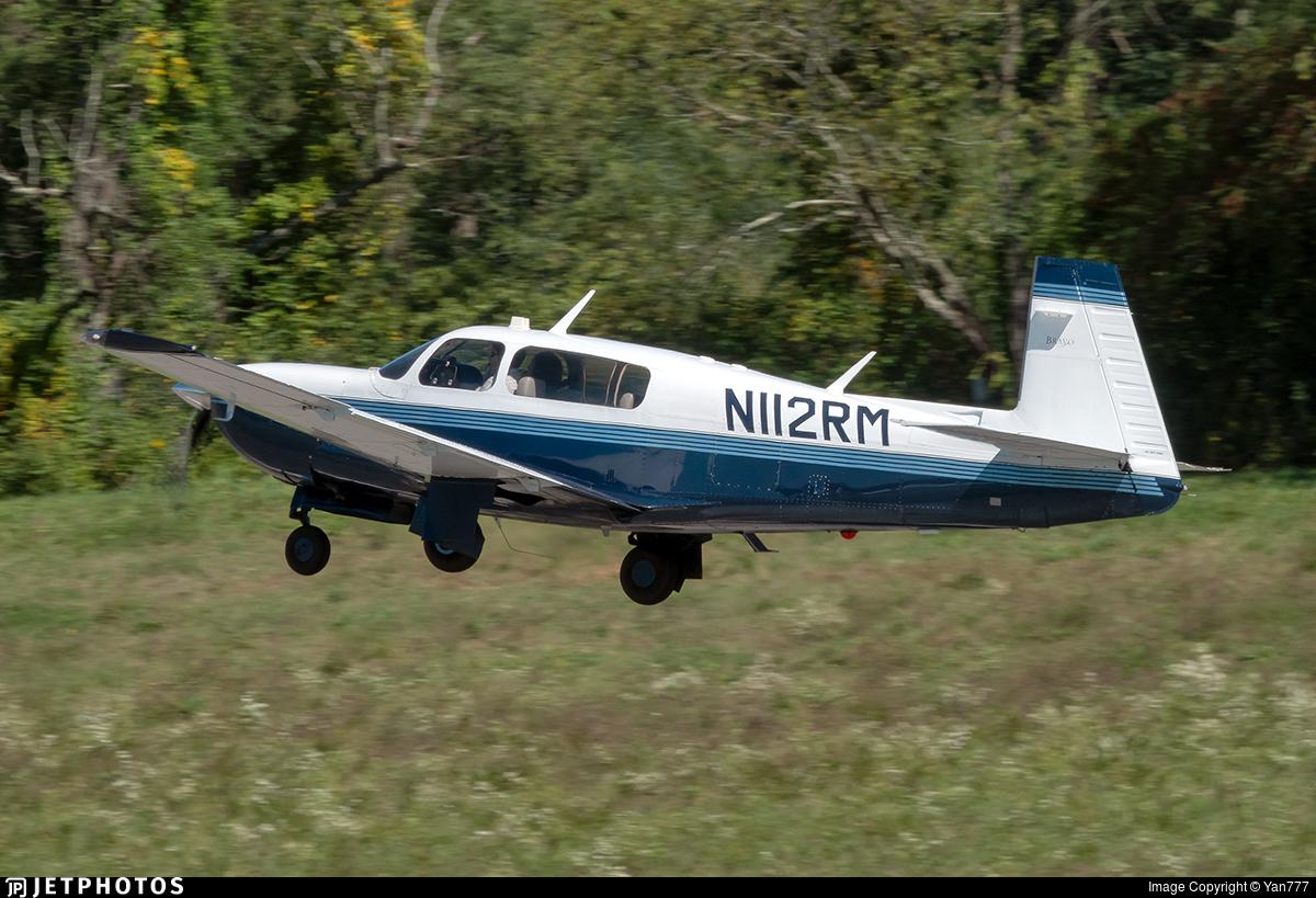 N112RM - Mooney M20M Bravo - Private