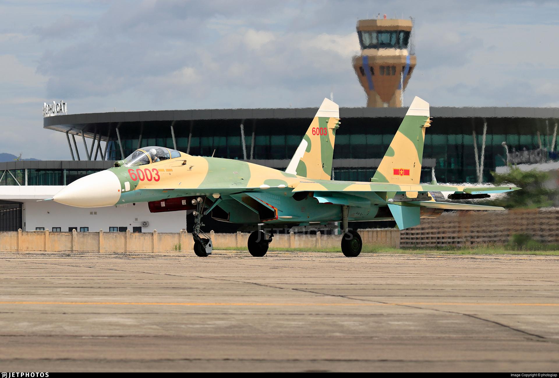 6003 - Sukhoi Su-27SK Flanker  - Vietnam - Air Force