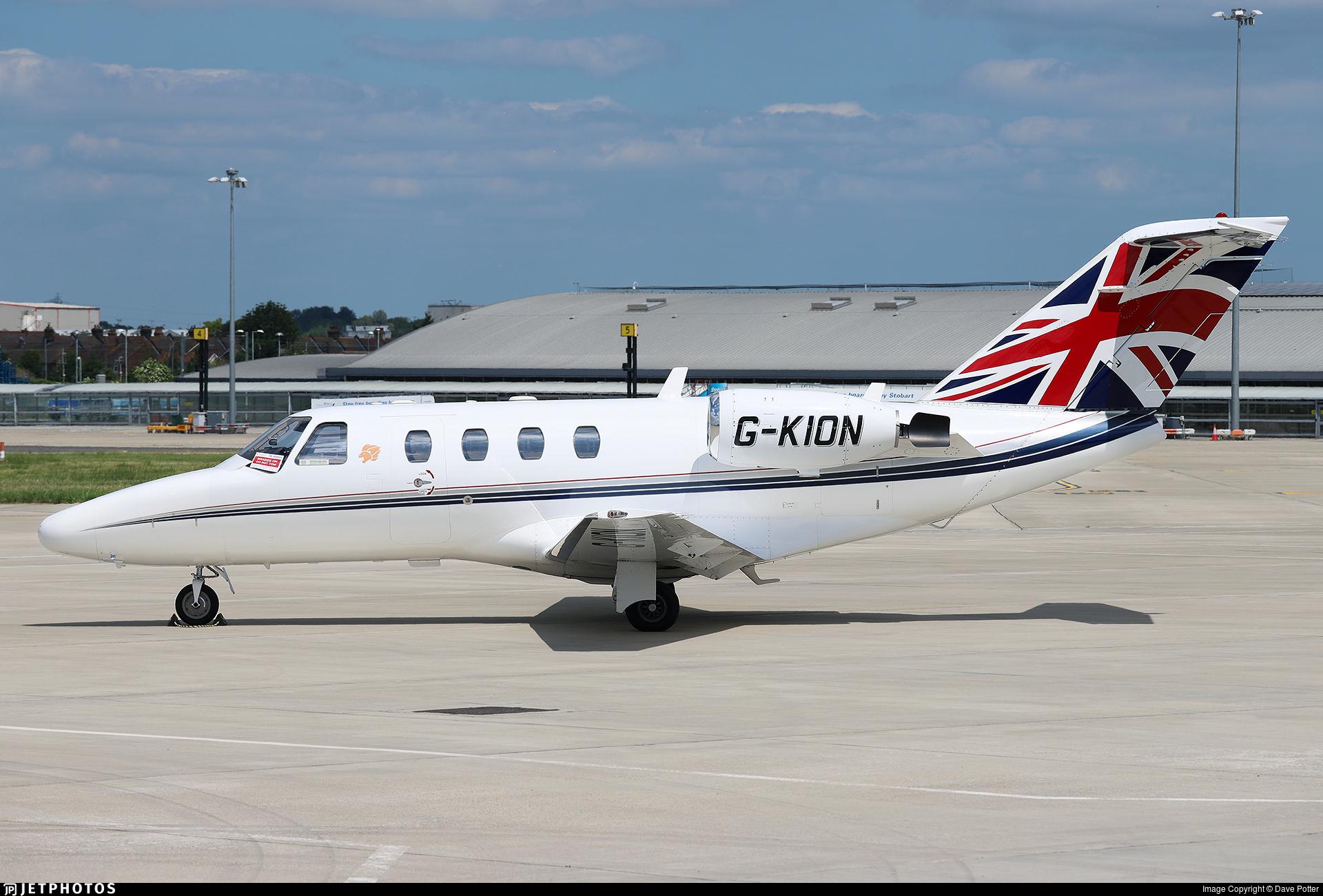G-KION - Cessna 525 CitationJet 1 - Bookajet
