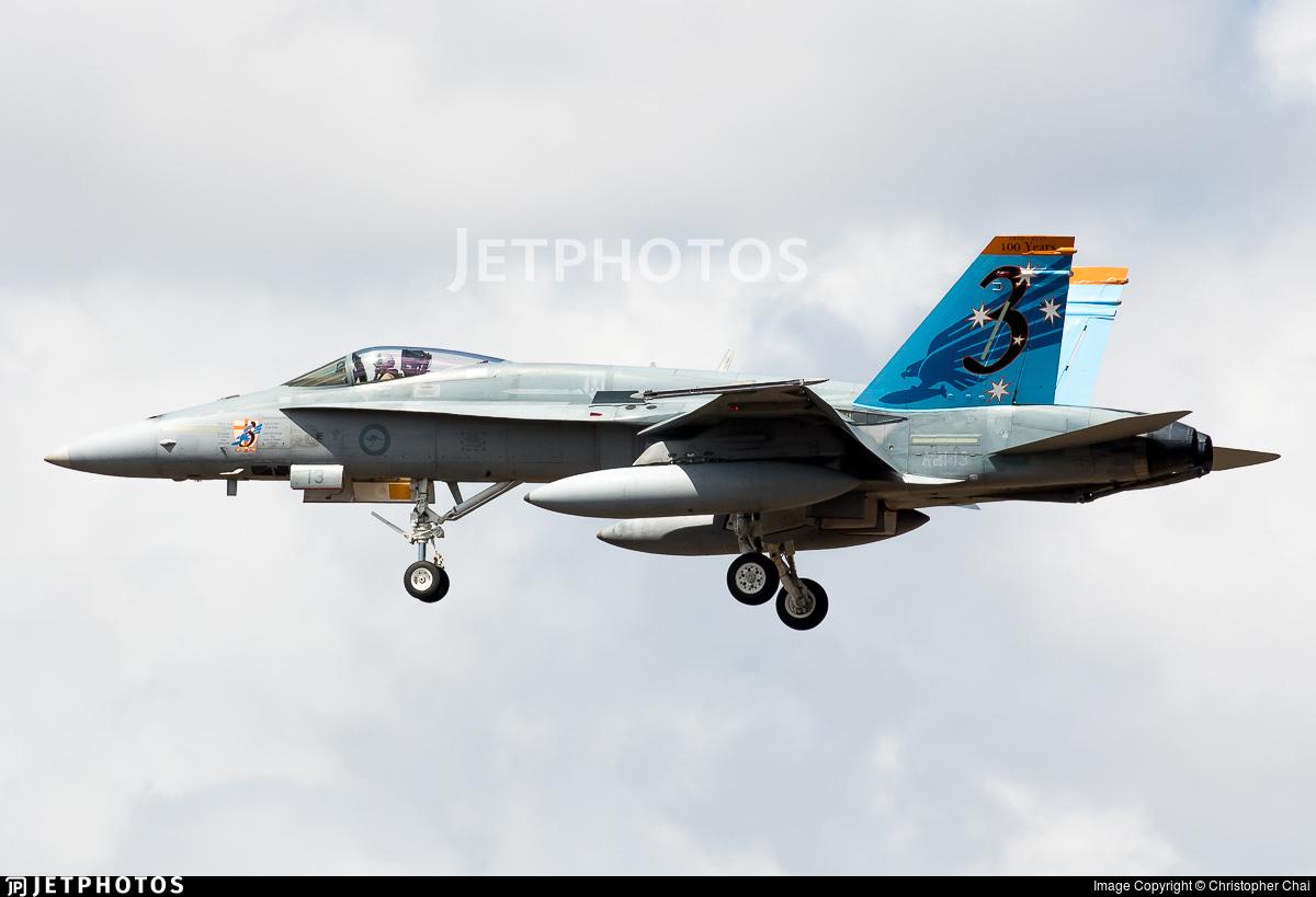 A21-13 - McDonnell Douglas F/A-18A Hornet - Australia - Royal Australian Air Force (RAAF)