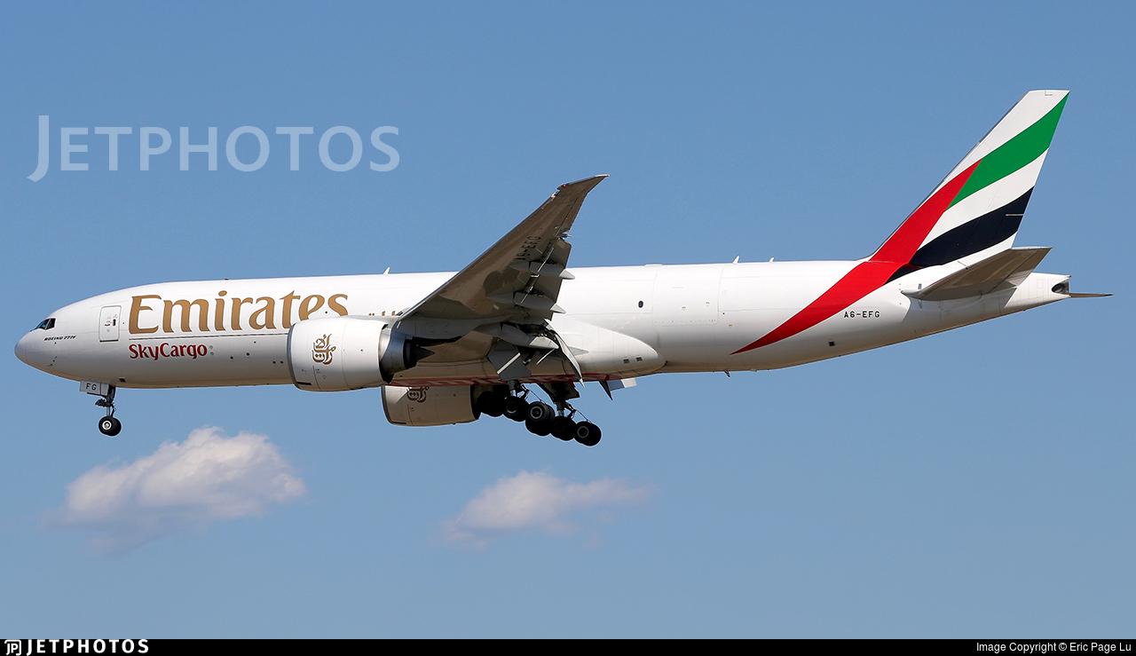 A6-EFG - Boeing 777-F1H - Emirates SkyCargo