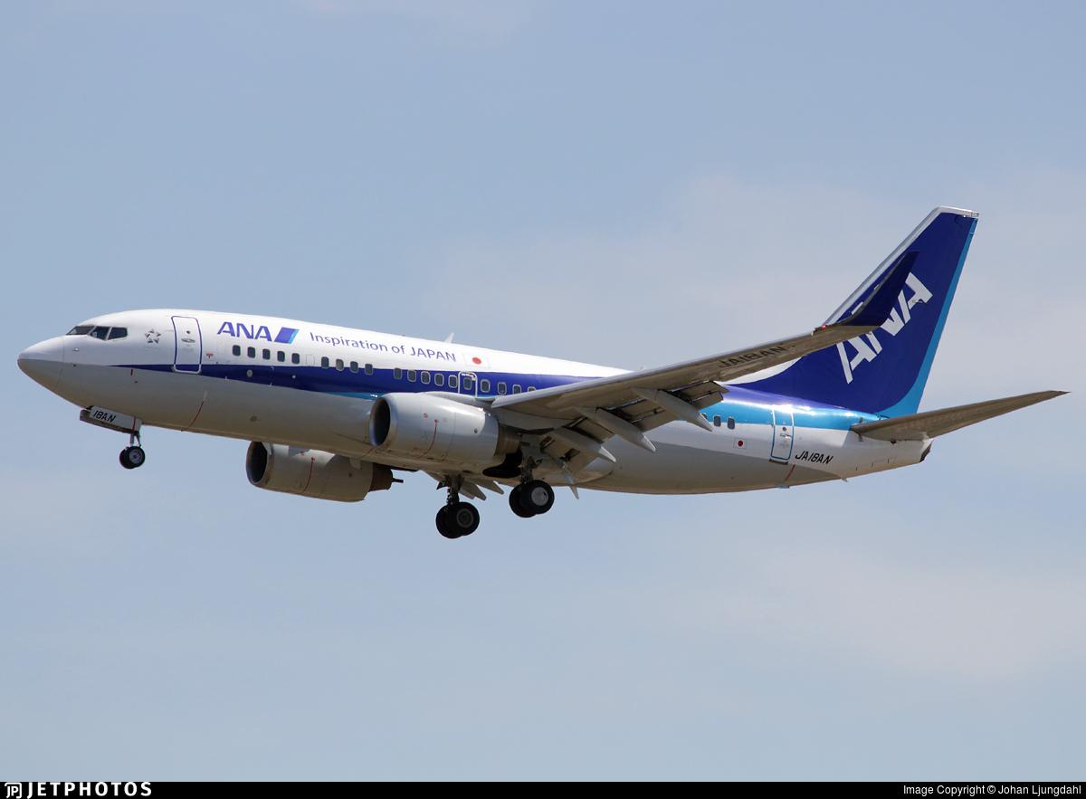 JA18AN - Boeing 737-781 - All Nippon Airways (ANA)
