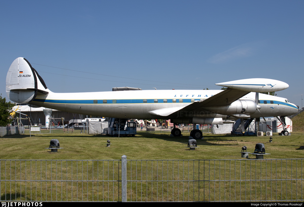F-BHML - Lockheed L-1049G Super Constallation - Lufthansa
