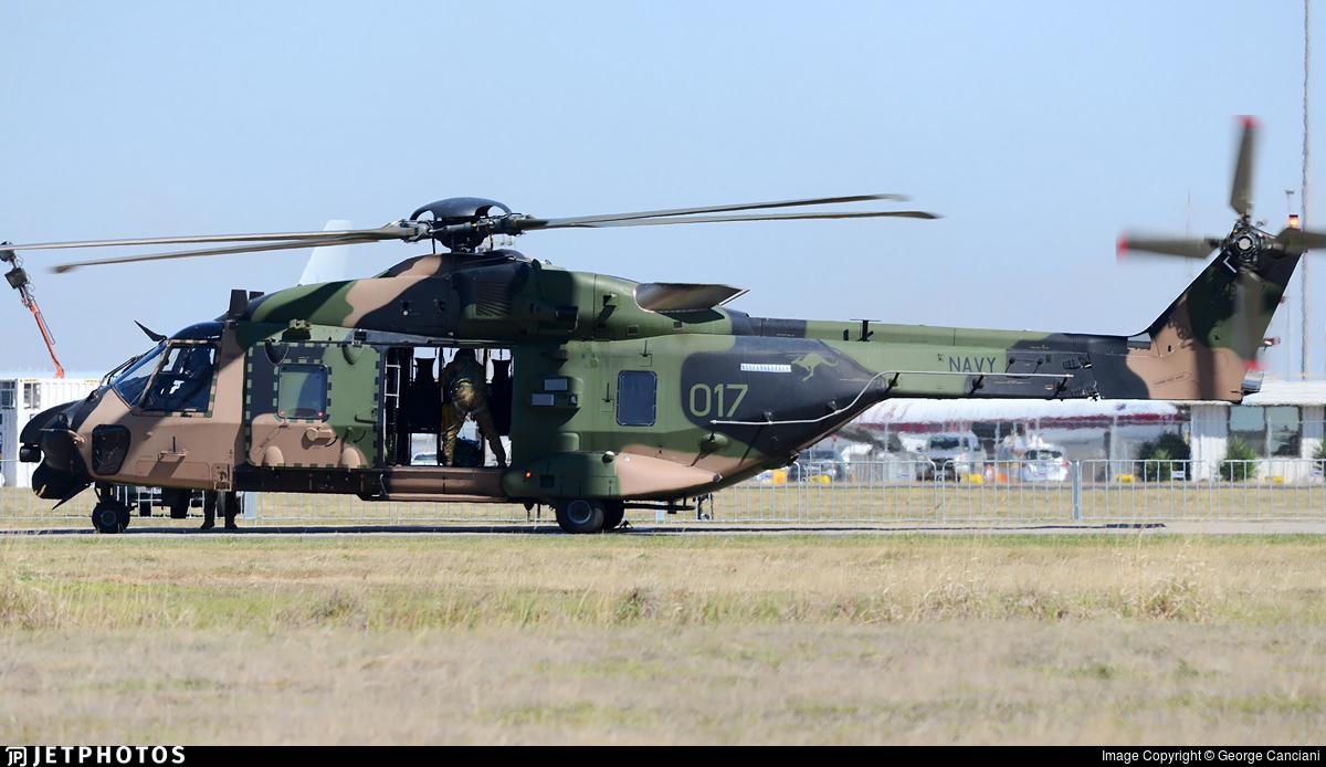 A40-017 - NH Industries MRH-90 - Australia - Royal Australian Navy (RAN)